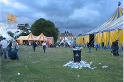Cornbury reveals details of comedy tent
