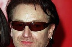"Bono ""heartbroken"" over Glastonbury cancellation"