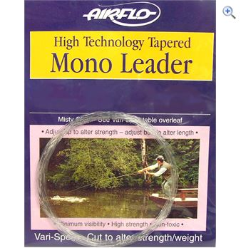 Airflo Tapered Mono Leader- 9ft - 2X- 10.4lblb
