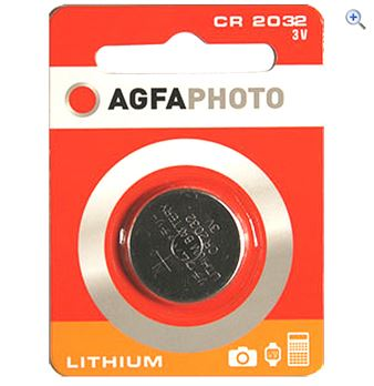 AgfaPhoto 2032 Lithium Coin Battery