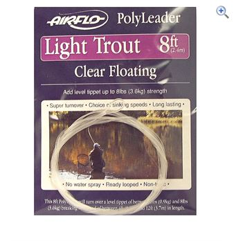 Airflo Floating Trout Leader- 8ft