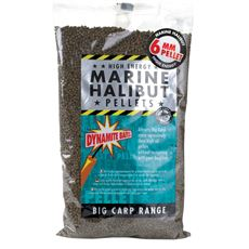 Marine Halibut Pellets 6mm 1 Kg Fishing Match Bait