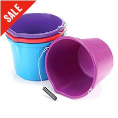 Mould Flex Stable Bucket (14 litre, Blue)