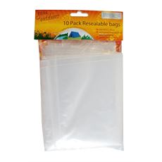 Re-Sealable Bags, pack of 10