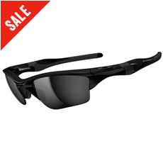 Half Jacket 2.0 XL Sunglasses (Polished Black/Black Iridium)
