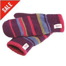 Rainbow Junior Mittens