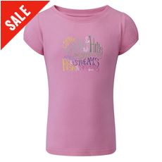 Paintbrush Girl's Tee
