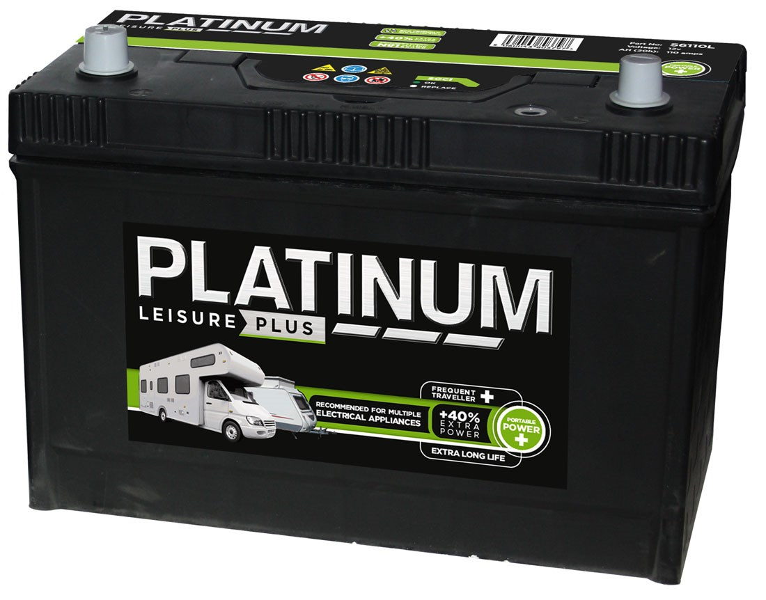 Platinum Leisure Plus Battery S6110l 110ah Go Outdoors Caravan Wiring Diagram Preload