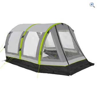 Airgo Cirrus 4 Inflatable Porch - Colour: GRAPHITE-LIME