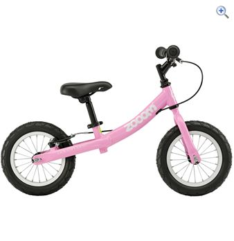 Adventure Kids' Zooom Balance Bike - Colour: Pink