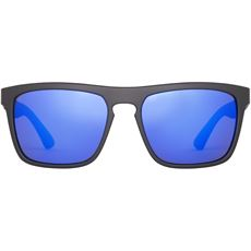 Thunder Sunglasses (Black/Blue Revo)