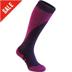 Women's Ski Midweight+ Merino Endurance Over Calf Socks