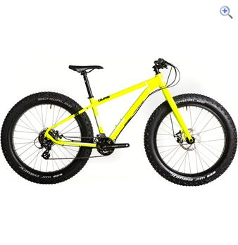 Calibre Dune Fat Bike – Size: L – Colour: Yellow