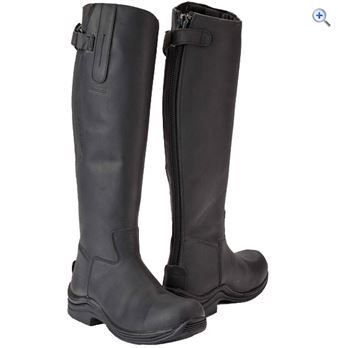Toggi Calgary Yard Boot - Size: 38 - Colour: Black