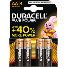 Plus Power AA Batteries (4 Pack)