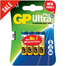 Ultra Plus Alkaline Batteries (4 x AAA)