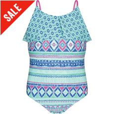 Shell Bay Girls' Swimsuit (7-12)