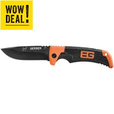 Bear Grylls Scout Knife (Black)