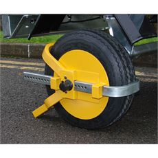 "Trailer Wheel Clamp (8-10"")"