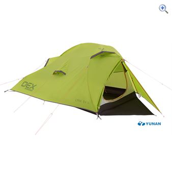 OEX Lynx EV II 2 Person Backpacking Tent - Colour: MUSTARD