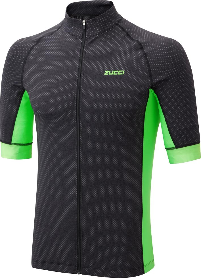 Zucci Men s Elite Full Zip Short Sleeve Jersey  a2f7e8117