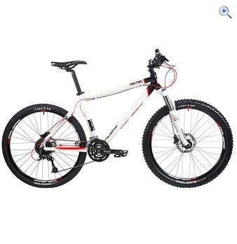 Calibre Two.Two V2 Alloy Hardtail Mountain Bike – Size: 16 – Colour: White And Black
