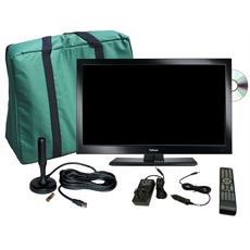 "TV Plus Pack - 19"" LED TV, 12V & Mains with magnetic mount Freeview antenna"