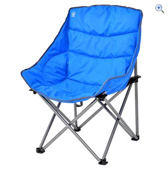 Hi Gear Vegas King Chair - Colour: Sapphire