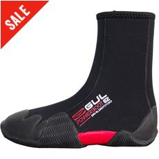 Junior Round Toe Zipped 5mm Power Boot