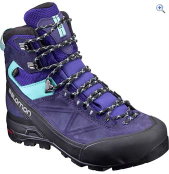 Salomon Women's X Alp MTN GTX Boots – Size: 5 – Colour: BLUE ASTRAL