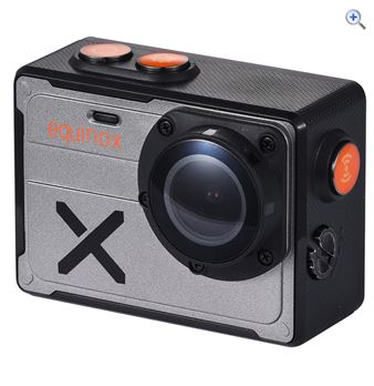 OEX Equinox 4K Action Camera – Colour: Black