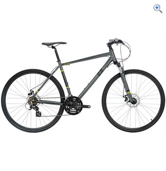 Compass Control Men's Hybrid Bike – Size: 21 – Colour: Grey