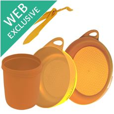 Delta Camp Set (Bowl, Plate, Mug, Cutlery)