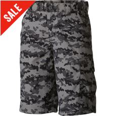 Kids' Silver Ridge™ Printed Short