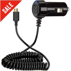StrikeDrive Reversible Micro USB Car Charger