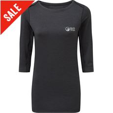 Women's ¾ Sleeve Diffusion Base Tee