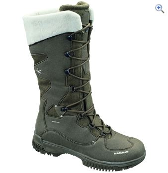 Mammut Women's Silverheel High WP Boots – Size: 5 – Colour: FLINT-WHITE