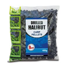 Drilled Halibut Carp Pellets 8mm