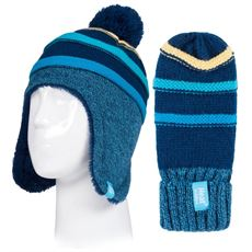 Kids' Cosy Ears Hat and Mittens (Age 3-6 years)