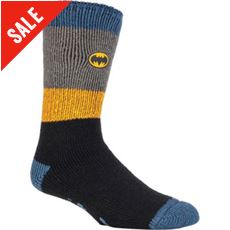 Men's Superhero Slipper Socks