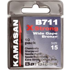 Hook Spade End B711 Barbless Size 17 10pk