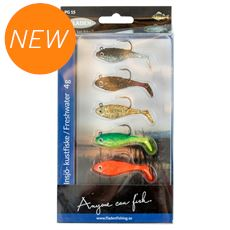 Set 5 Soft Lures 4g
