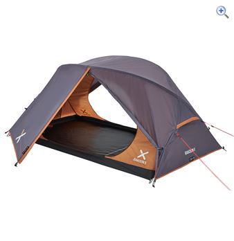 OEX Rakoon 2 Backpacking 2 Person Tent - Colour: Grey-Orange