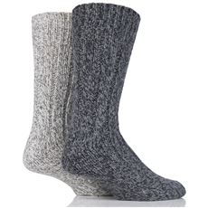 Men's Wool Rib Boot Socks