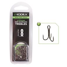 X Strong Semi Barbless Hooks Size 6 10 Pack