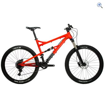 Calibre Bossnut Evo Mountain Bike - Size: S - Colour: FORGE ORANGE