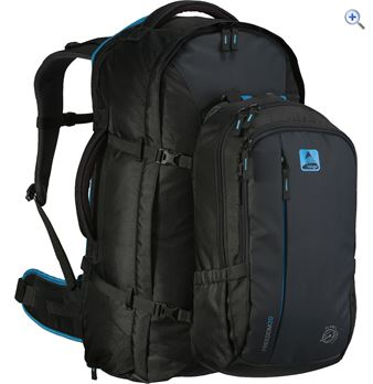 Vango Freedom II 80+20 Rucksack - Colour: CARBIDE GREY