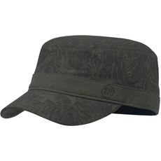 Military Cap (Checkboard Moss Green)