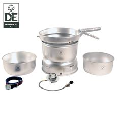 25-1 GB Stove with Alloy Pans & Gas Burner
