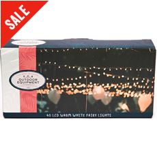 40 LED Warm White Fairy Lights